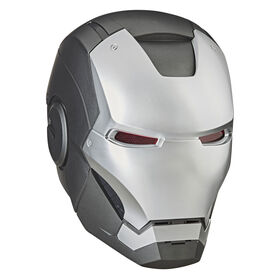 Marvel Legends Series War Machine Roleplay Premium Collector Electronic Helmet with LED Light FX