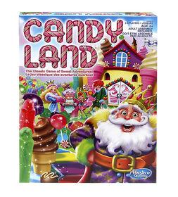 Hasbro Gaming - Jeu Candy Land - les motifs peuvent varier
