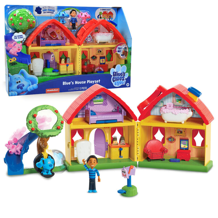 Blue's Clues & You! Blue's House Playset - English Edition - R Exclusive