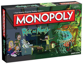 Monopoly Game: Rick and Morty