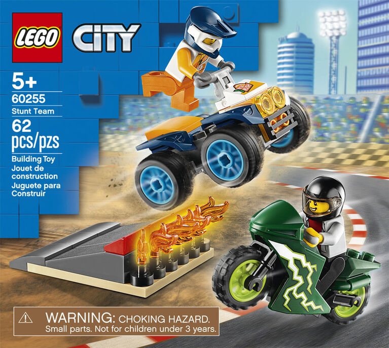 LEGO City Nitro Wheels Stunt Team 60255