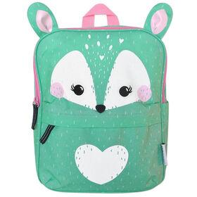 ZOOCCHINI - Toddler, Kids Everyday Square Backpack - Garderie, crèche, jardin d'enfants, cartable - Fiona Le Faon