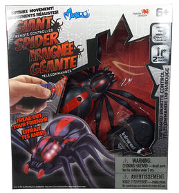 RC Bugs World: RC Bugs with lights up feature - Giant Spider