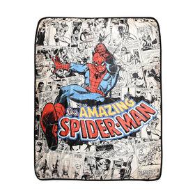 Marvel Comics Spider-Man Super Plush Throw