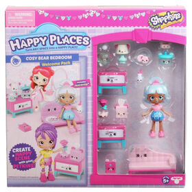 Shopkins Happy Places S3 Welcome Pack - COZY BEAR BED ROOM