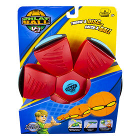 Goliath - Phlat Ball V3 - Red with Blue Bumper