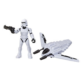 Star Wars Mission Fleet Gear Class Clone Trooper Arena Rescue 2.5-Inch-Scale Figure and Vehicle
