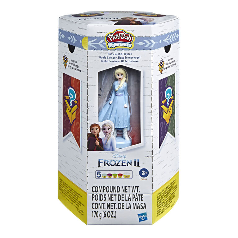 Play-Doh Mysteries, La Reine des neiges 2 de Disney, Boule à neige
