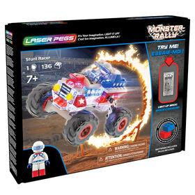 Camion de course cascadeur Laser Pegs