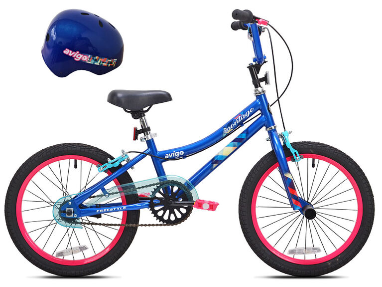 Avigo Montage with Helmet - 18 inch Bike