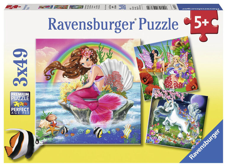 Ravensburger: Mythical Creatures casse-tête (49pc)