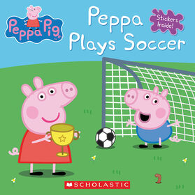 Scholastic - Peppa Pig: Peppa Plays Soccer - Édition anglaise