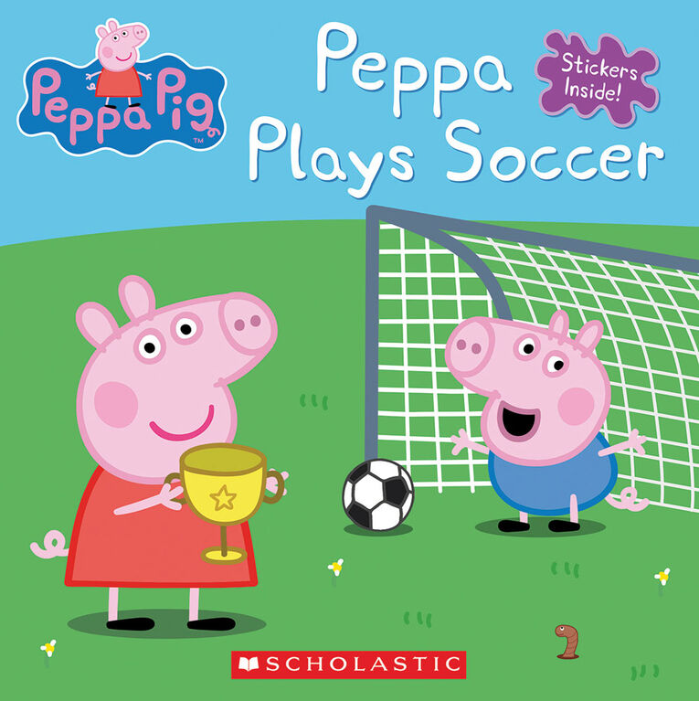 Scholastic - Peppa Pig: Peppa Plays Soccer - English Edition