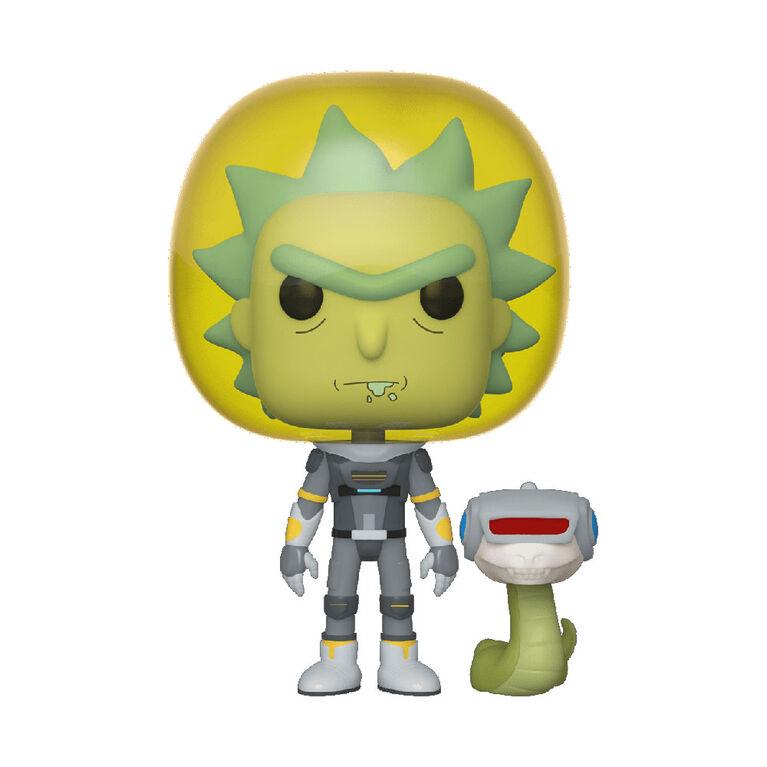 Figurine en Vinyle Space Suit Rick with Snake Par Funko POP! Rick and Morty