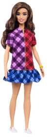 Barbie Fashionistas Doll #137 with Long Brunette Hair
