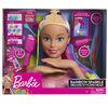 Barbie Deluxe Rainbow Styling Head - Blonde - R Exclusive
