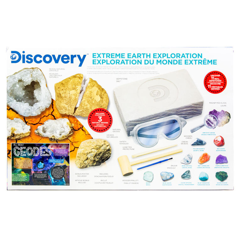 Discovery Extreme Earth Exploration Set
