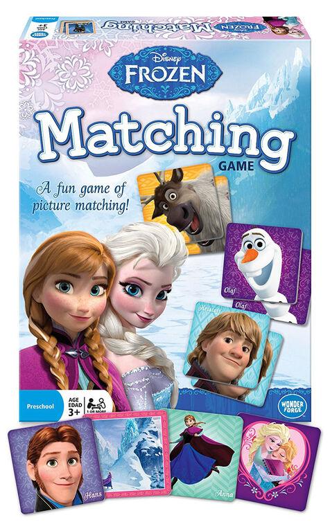 Wonder Forge: Disney Frozen Jeu D'Association