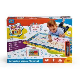Out Of The Box - Tapis de jeu Amazing Aqua Playmat - Notre exclusivité