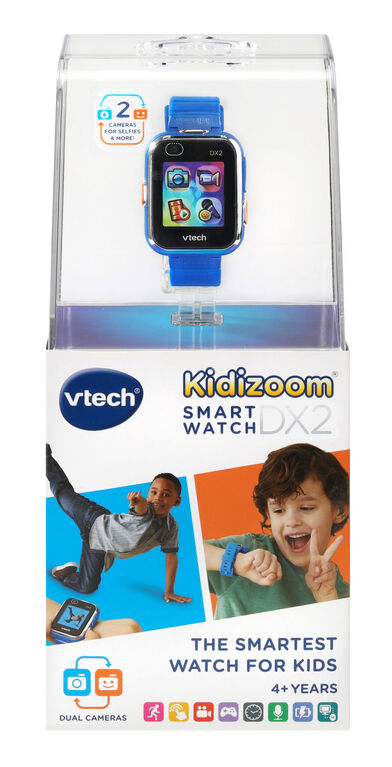 KidizoomMD Smartwatch DX2 BLEU- Version Anglaise
