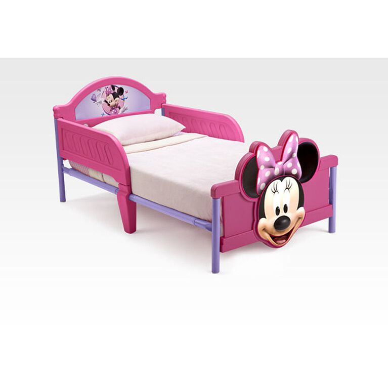 Disney Minnie Mouse 3D Toddler Bed