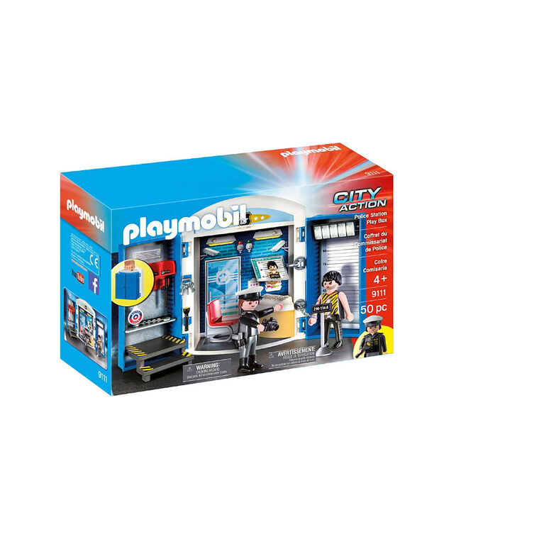 Playmobil - Police Station Play Box (9111)