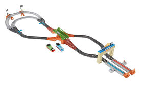 Fisher-Price Thomas et ses amis - TrackMaster - Coffret Circuit de course de Thomas et Percy