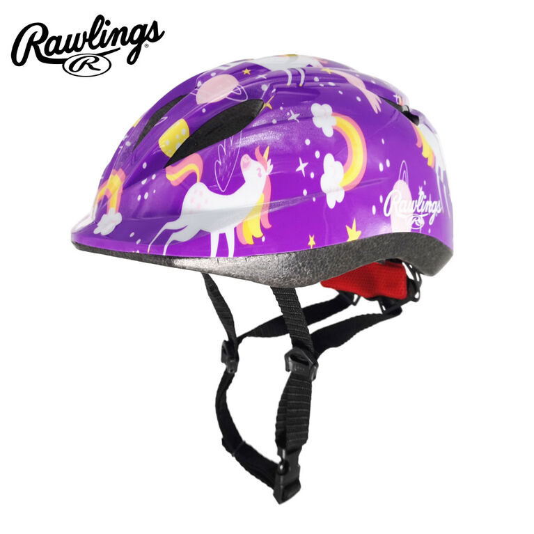 Casque De Vélo Rawlings Enfant / Jeunesse - Réglable Violet