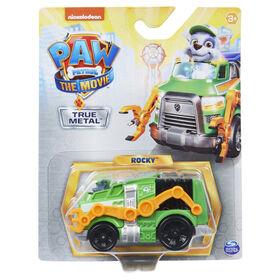 PAW Patrol, True Metal Rocky Collectible Die-Cast Vehicle, Movie Series 1:55 Scale