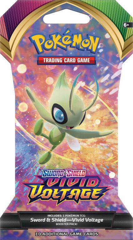 Booster et protège-cartes Pokémon - Épée et Bouclier, Voltage Éclatant - Édition anglaise
