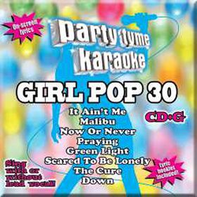 CD-Karaoke Girl Pop 30