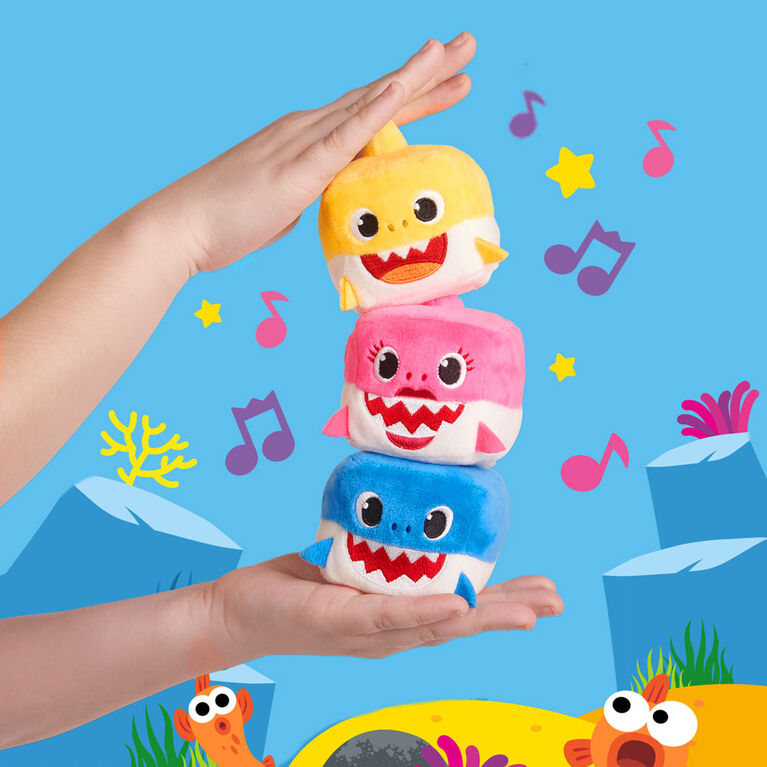 Pinkfong Shark Family Sound Cube  Daddy Shark  By WowWee