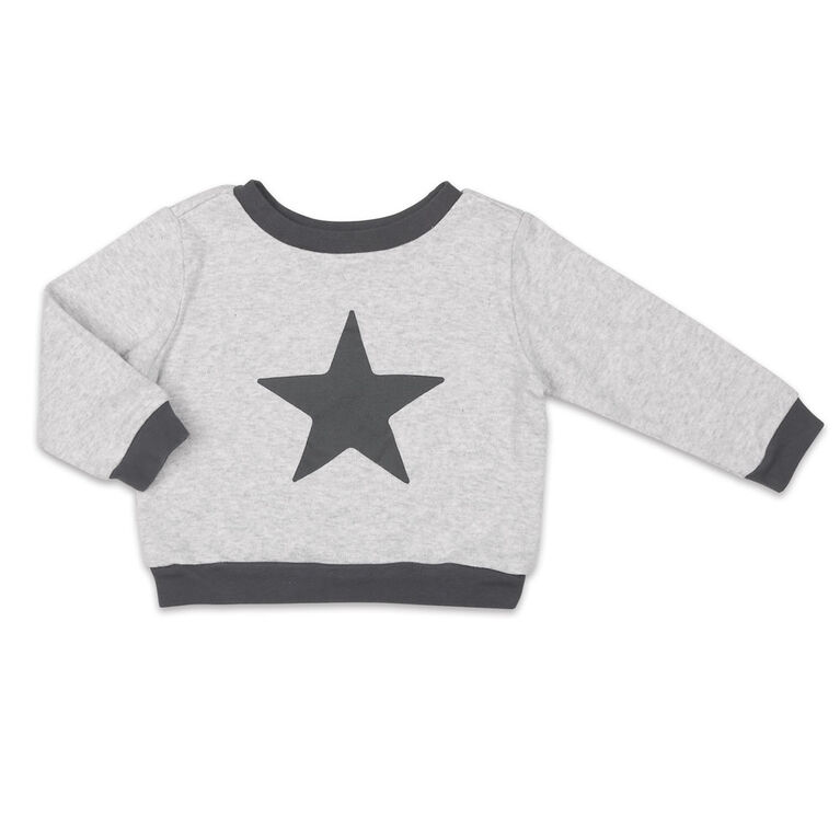Koala Baby Shirt and Pants Set, Grey with Star - 12 Months
