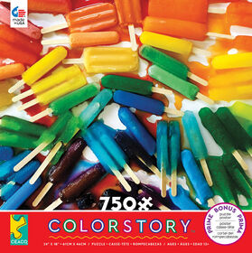 Ceaco: Colorstory - Popsicles Jigsaw Puzzle (750pc)