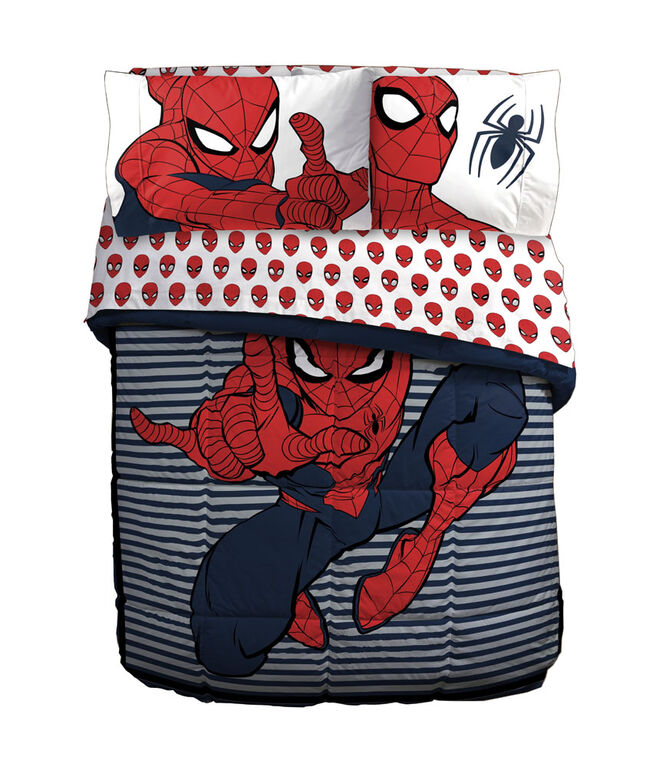 Spiderman Twin/Full Comforter