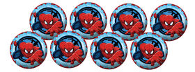 8 Pack Playball with Pump 4 inch Spiderman