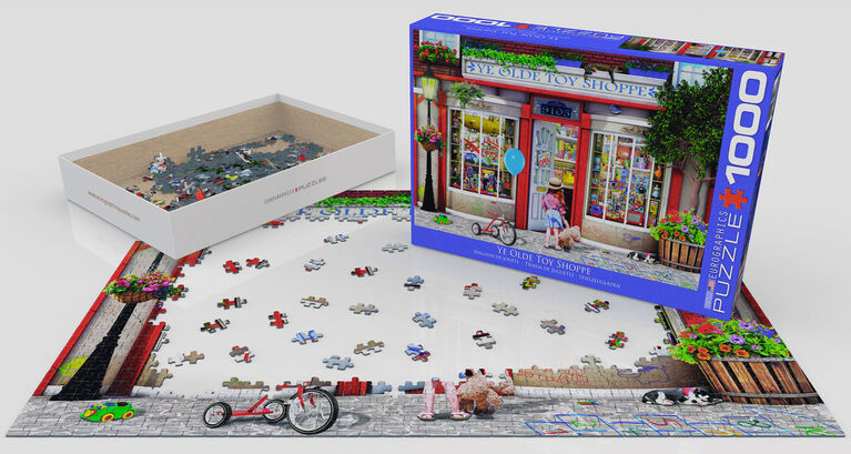 Eurographics Favourite Pasttimes 1000 Piece Toy Shoppe