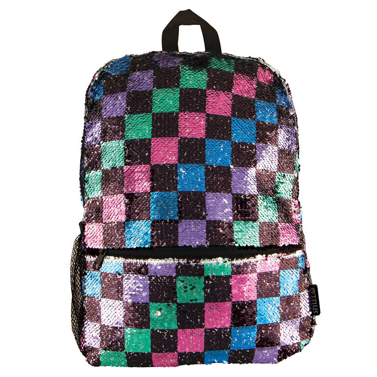 Fashion Angels - Checkerboard Magic Sequin Backpack