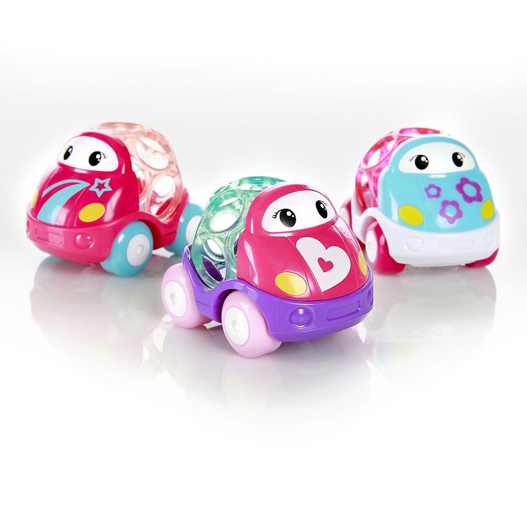 Go Grippers Vehicles - Pink