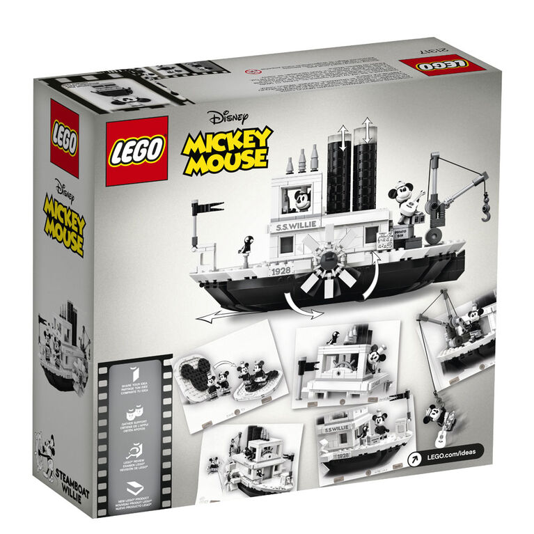 LEGO Ideas Steamboat Willie 21317