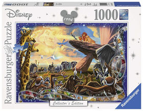 Ravensburger! Disney - Lion King Collector's Edition Jigsaw Puzzle - 1000 Piece