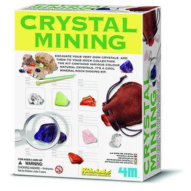 4M Crystal Mining - English Edition