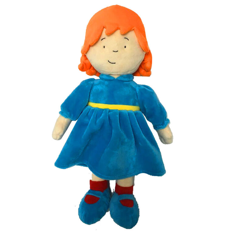"Caillou: Rose Plush 16"" - French Edition"