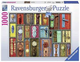 Ravensburger! Antique Doorknobs casse tête (1000pc)