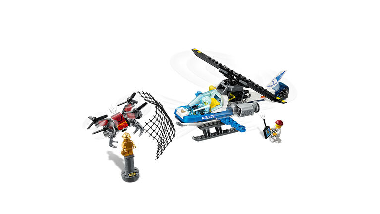 LEGO City Sky Police Drone Chase 60207