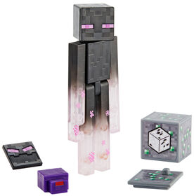 Minecraft Comic Maker Teleporting Enderman Action Figure - English Edition