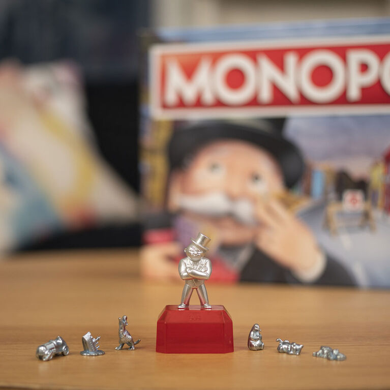 Monopoly For Sore Losers Board Game, The Game Where it Pays To Lose
