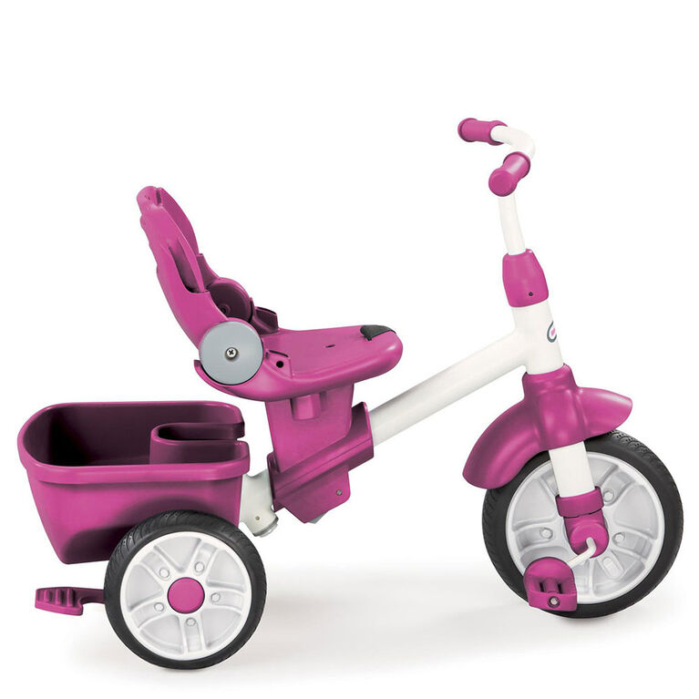 Tricycle Perfect Fit 4 en 1, rose Little Tikes