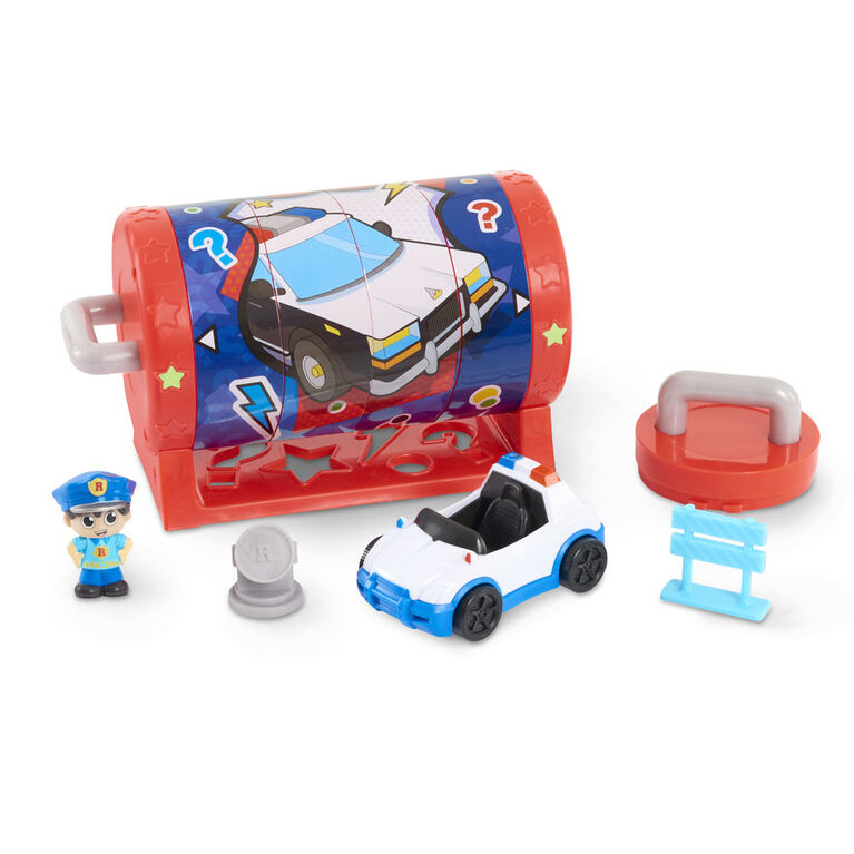 Ryan's Mystery Playdate Picture Puzzle Box - Police Ryan - English Edition