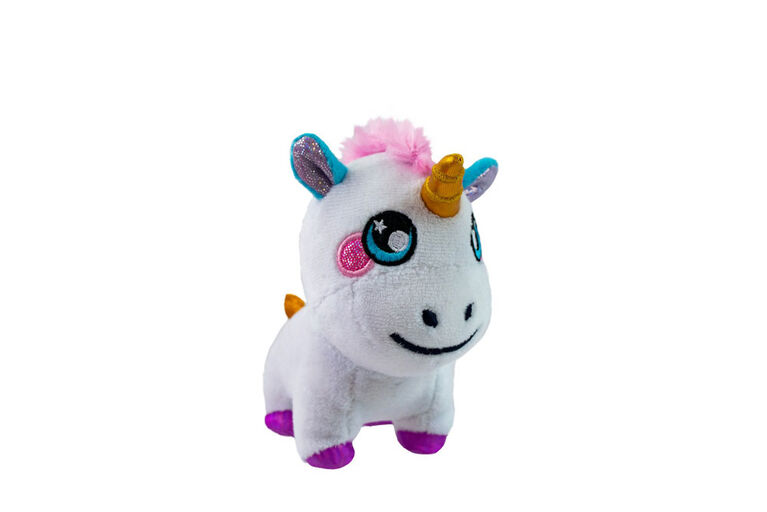 "Squeezamals - 4"" - 3Deez  - Unicorn"